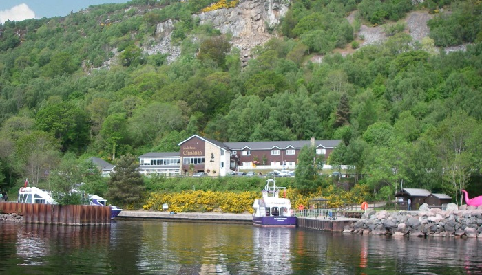The Clansman harbour