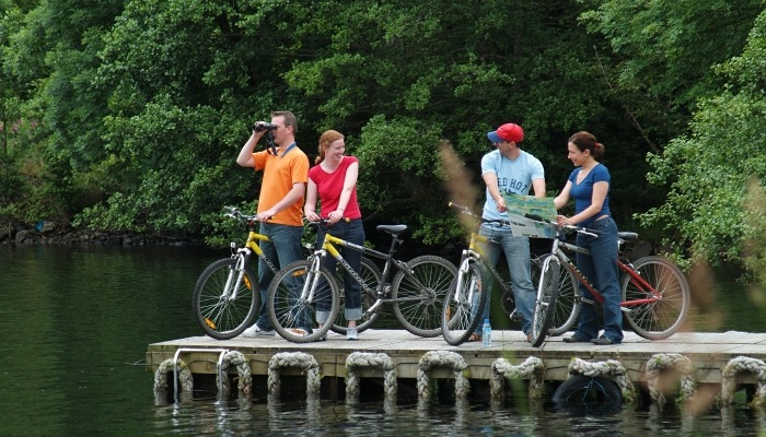 Why not hire bikes from us?