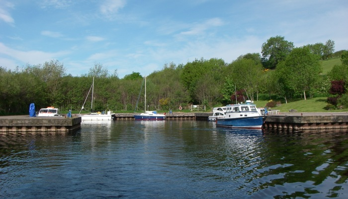 Leaving Drumnadrochit harbour