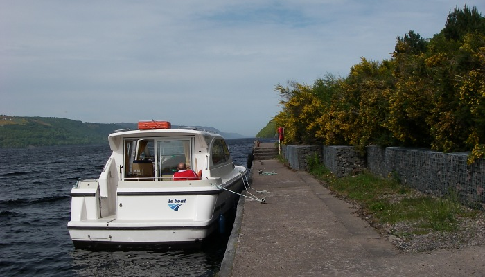 Moored at Foyers