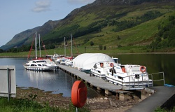 West Highland Sailing pontoon