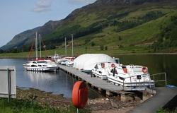 West Highland Sailing pontoon