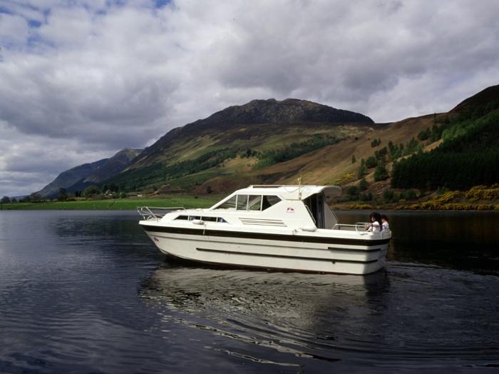 Cygnet on Loch Lochy