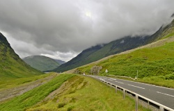 The road through Glencoe