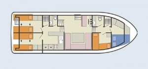 Classique - Accommodation Layout