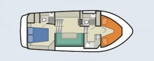 Countess - accommodation layout