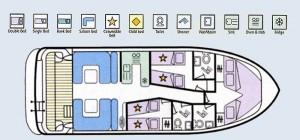 Elegance - accommodation layout
