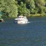 Entering Loch Oich