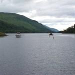 Leaving Loch Oich