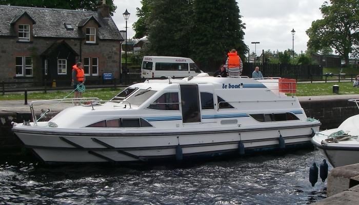 Modern boats with all mod cons