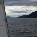 Looking up Loch Ness