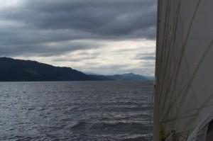 Loch Ness looking moody