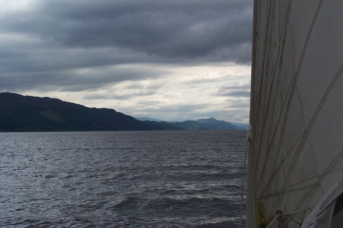 Loch Ness looking moody
