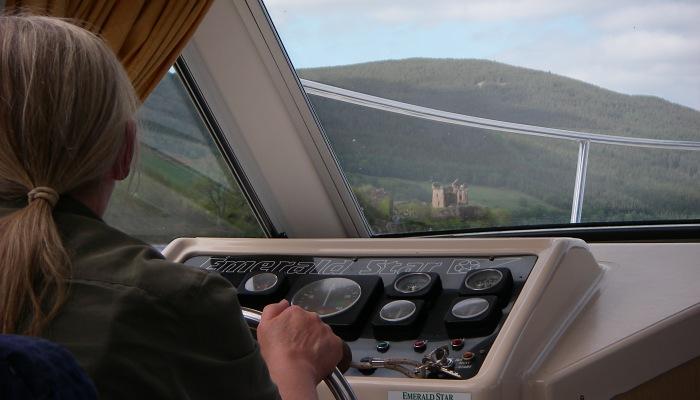 Off Urquhart Castle