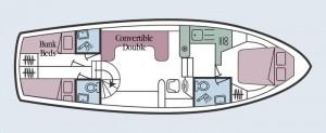 Royal Star - Accommodation Layout